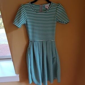 Lularoe Amelia dress XXS nwot